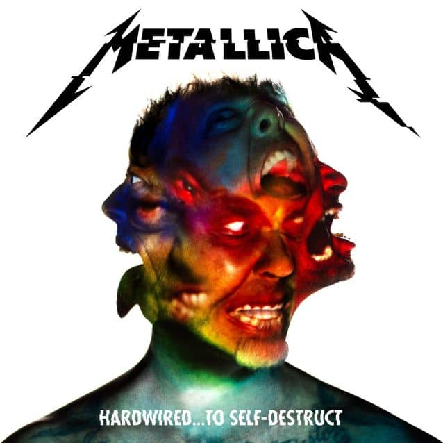 «Hardwired…To Self-Destruct album cover