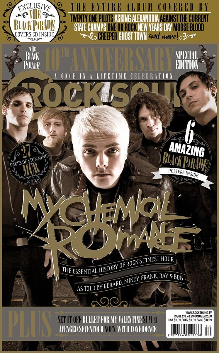My Chemical Romance the black parade Rolling Stones