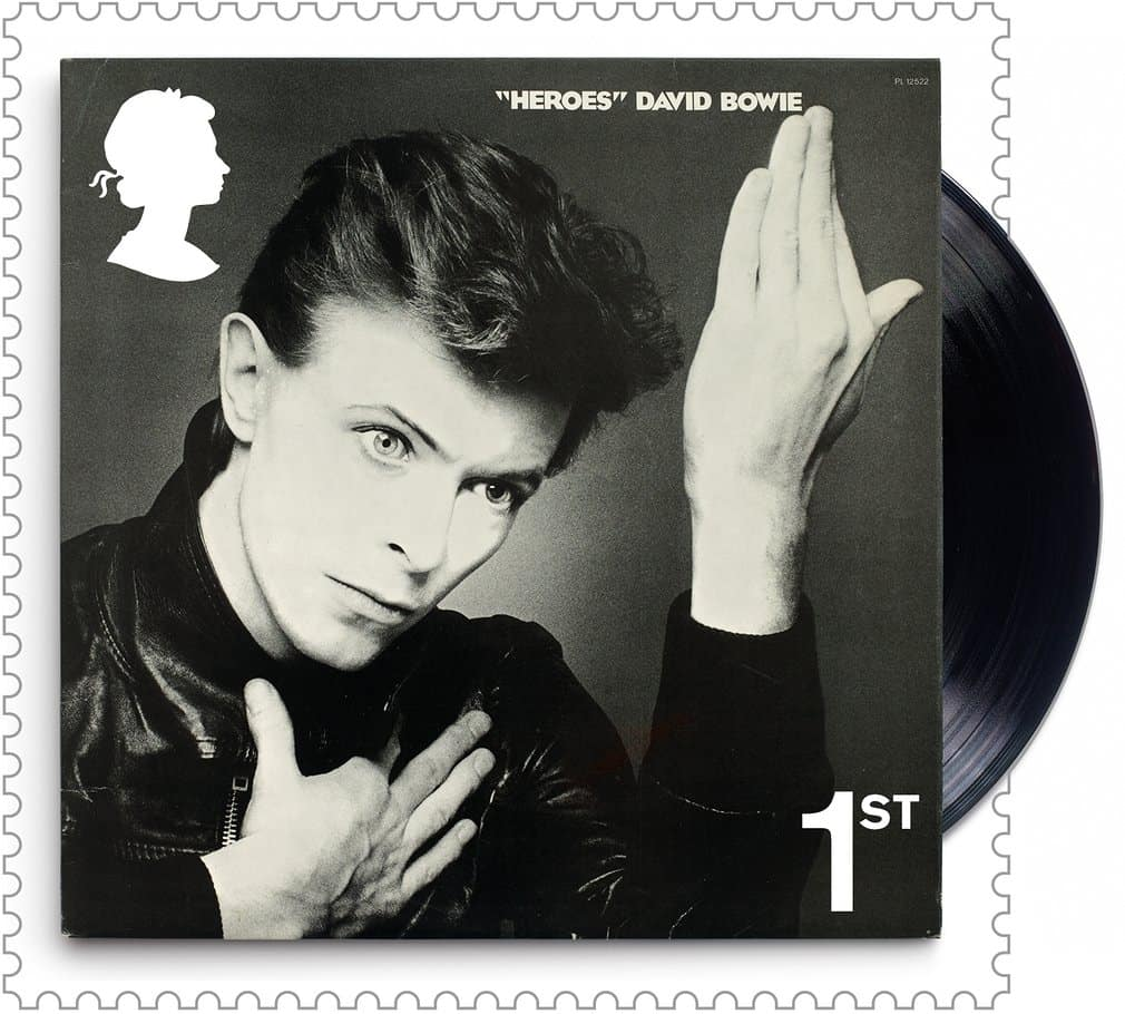 David Bowie royal mail stamps